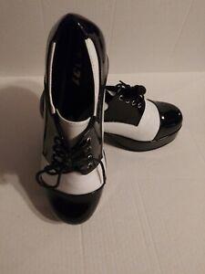 "New 1031 Ellie Samuel ""FREDDY"" Men's Zoot Suit Gangster Costume Platform Shoes"