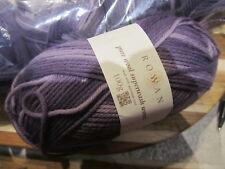 Rowan Pure Wool Superwash Worsted Yarn - Mauve Wash sh #180  lot 64