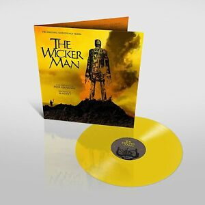 The Wicker Man Soundtrack - Paul Giovanni/Magnet - Limited Yellow Vinyl LP [NEW}