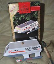 Hallmark Magic Christmas Ornament Star Trek Shuttlecraft Galileo - NM+ w/ box