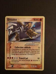 Carte Pokémon Groudon star 111/113 ex espèce delta 2006 ultra-rare
