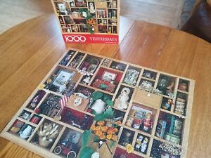 Springbok YESTERDAYS-1000 Piece-COMPLETE Puzzle
