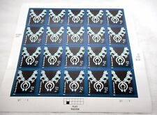 2004 Navajo Jewelry Necklace Sheet 20 x 2¢ Stamps 3750