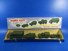 DINKY GIFT SET 699 MILITARY VEHICLES (1), VNMB!