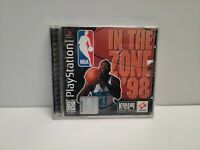 NBA in the Zone '98 (PlayStation 1) PS1 Complete with Registration Card TESTED
