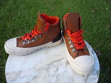 Converse All Star Chuck Taylor Full Grain Leather Weather-proof Hiker Boots 5.5
