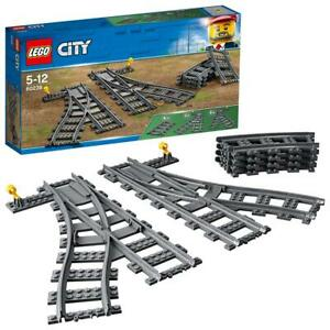 LEGO City Trains Les aiguillages 60238