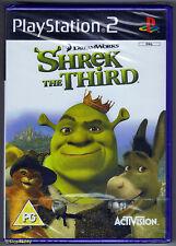 PS2 Shrek The Third (2007) Brand New & Sony Factory Sealed