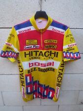 Maillot HITACHI BOSAL B.C.E SNOOKER Tour de France 1988 jersey trikot vintage 4