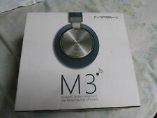 MIPOW M3 Headphones - Teal - Complete - Kickstarter Release