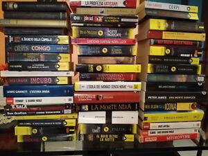 Lotto stock 50 libri autori e generi vari