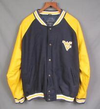 Vintage 90s West Virginia Mountaineers Logo 7 1/2 Zip Coat Size Medium 9UBA7