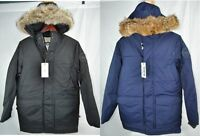 NEW WOOLRICH PATROL DOWN PARKA BLACK NAVY MENS 16174 650 FILL 5k/5k COYOTE