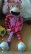 """Childs Large Pink Zingzilla Panzee Soft Toy 20"""" Tall"""