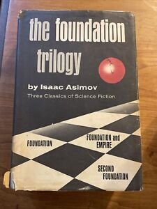 The Foundation Trilogy by Isaac Asimov (1951 Hardcover, Book Club Edition)