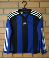 Shirt Adidas Striped 15 LS Youth 9-10 y Long Slevee Football Soccer S17192