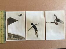 1936 BERLIN OLYMPICS JAPAN PHOTO lot 3 HIGH DIVE