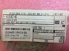 ZX62D-B-5P8 HIROSE CONN RCPT MCR USB B SMD TH SHLL 10 PIECES
