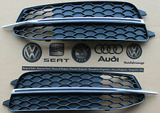 Audi A6 4G front lower bumper grills for S-Line S6 C7