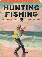 Hunting and Fishing--Feb. 1934-----283