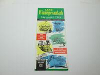 Vintage 1960s Lake Winnepesaukah 3-D Tennessee Ephemera Brochure Advertisement