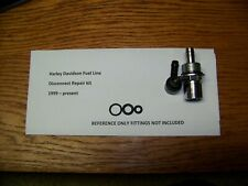 Harley Davidson fuel line quick disconnect repair kit (VITON) ! Hundreds Sold !