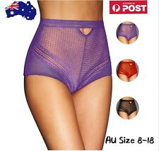Plus Size 8-18 Panty Woman's High Cut Brief Underwear Undies Knickers Lingerie