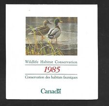 CANADAVanDam Catalogue FWH1 $1.00 MALLARDS BOOKLET  MNH, F-VF