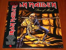 IRON MAIDEN PIECE OF MIND LP PICTURE DISC HEAVY VINYL EU LIMITED EDITION New