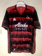 Adidas Authentic MLS Jersey Portland Timbers Team Red sz M
