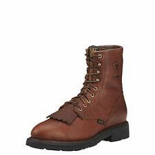 "Ariat 10002397 Cascade 8"" H2O Western Riding Roper Style Kiltie Non Slip Boots"