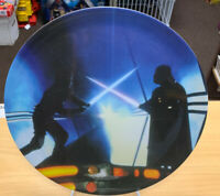 "Set Of 3 Star Wars 2015 Think Geek 10"" Plastic Plates R2-D2 & C3P0, Vader, Jets"