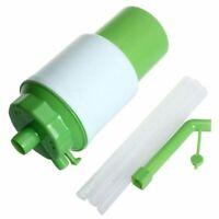 1X Bomba de Agua Potable Prensa de Mano Embotellada Manual Dispensador de B B7Z7