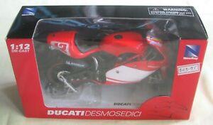 NewRay Ducati Desmosedici, Troy Bayliss #12, Diecast 1:12