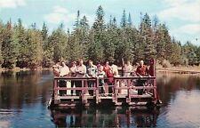 Manistique Michigan~Kitch-iti-ki-pi Spring Folk on 3-Hour Tour~3-Hour Tour 1950s