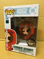 FUNKO POP! South Park ZOMBIE KENNY #05 Exclusive Vinyl Figure *Brand New* RARE