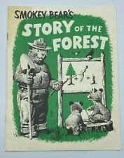 Vintage Smokey The Bear's Story of the Forest Activity Book PK12