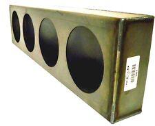 quadruple 4in round truck tail/signal light bar housing box Starfab 1077