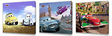 Disney Cars II set of Three Wall / Plaques canvas pictures