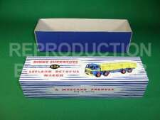Dinky #934 Leyland Octopus Wagon (yellow / green) - Reproduction Box by DRRB
