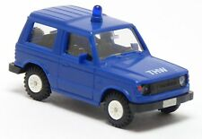 Rietze 50181 - Mitsubishi Pajero THW blau neutral MTW ELW KdoW - 1:87 H0