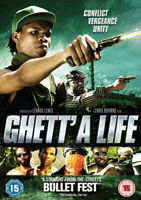 Ghett'a Life DVD (2013) Kevoy Burton, Browne (DIR) cert 15 ***NEW*** Great Value