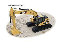 CAT 320D LRR Hydraulic Excavator Wind Up Collectible 1/72 Wonda