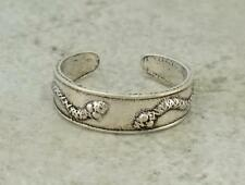 CUTE STERLING SILVER SNAKE ADJUSTABLE TOE RING  style# tr44