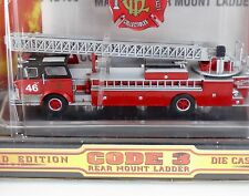 Code 3 Chicago BACKDRAFT MACK CF Rear Mount Ladder #46 1:64 Diecast 12495