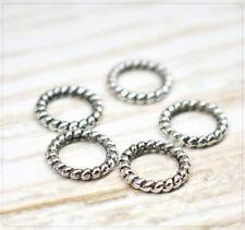 Das Beste Doppelloch Metall Perlen Silber Twist Wikinger Verbinder Spacer 31 Mm Fk00506 Folkloreschmuck Schmuckherstellung