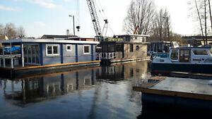 Hausboot, Apartment auf dem Wasser im Hafen Nahmitz - Anfertigung nach Auftrag