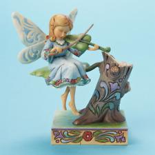 Jim Shore Heartwood Creek*Musician Fairy Figurine*New*Nib*Violin*H armony*4014983