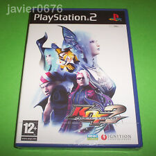 KING OF FIGHTERS MAXIMUM IMPACT 2 NUEVO PRECINTADO PAL ESPAÑA PLAYSTATION 2 PS2