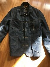 Lee 101 Loco blanket lined jacket with leather pockets s-m